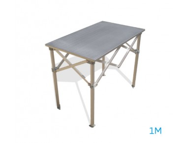 Table aluminium 1m