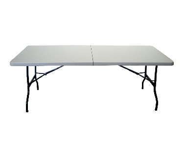 Table pliante en son milieu 183cm