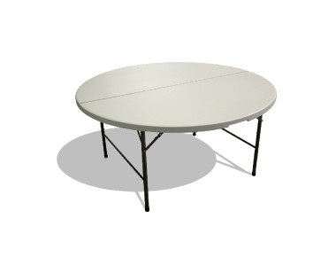 Table ronde pliante 150cm