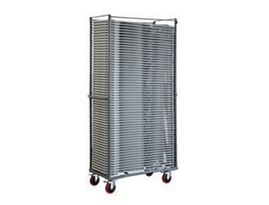 Trolley pliant transport 60 chaises