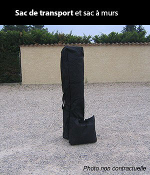 Sac de transport inclus