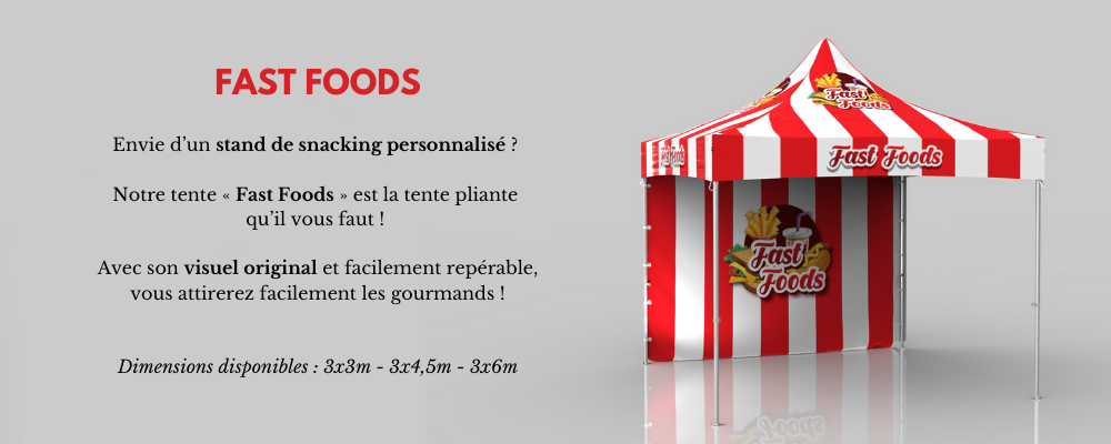 Barnum personnalisable fastfoods